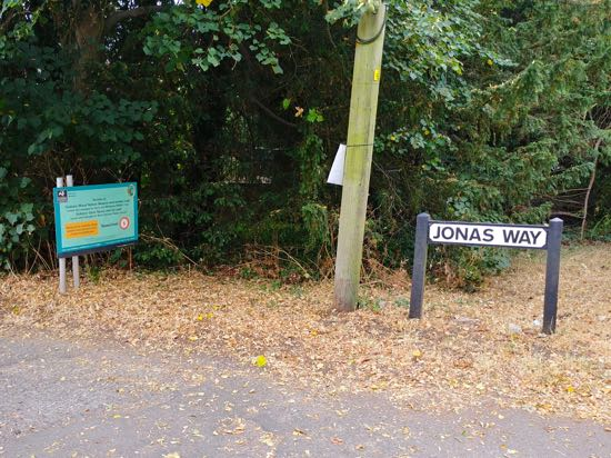 Photograph of Jonas Way. Image by North Mymms News released under Creative Commons BY-NC-SA 4.0