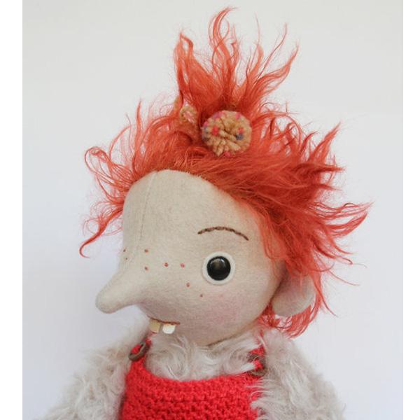 mini pomme troll doll
