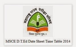 Maharashtra DTEd Time Table 2014 Logo