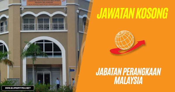 jawatan kosong Jabatan Perangkaan Malaysia 2018