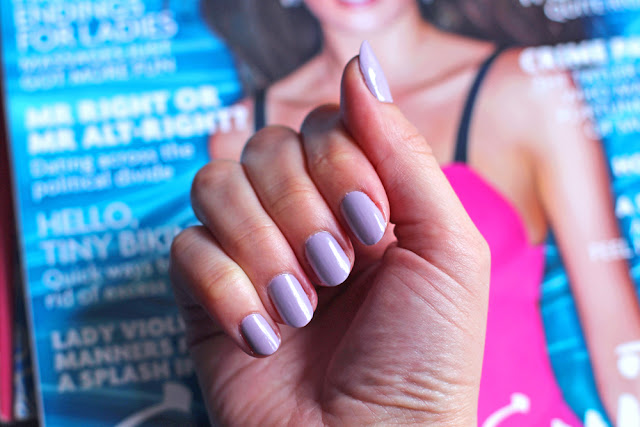 Nails Inc Bright Pastel nails - UK beauty blog