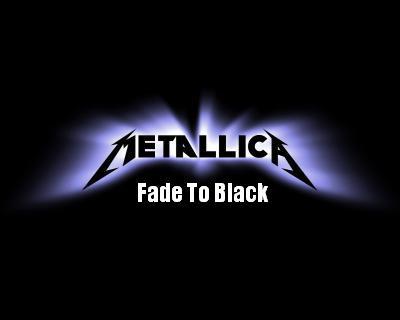 Metallica Fade To Black 97