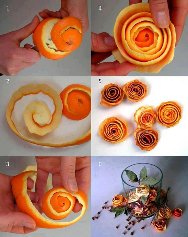 Flores de naranja.