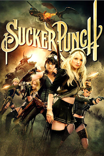 Poster Of Sucker Punch 2011 In Hindi Bluray 720P Free Download