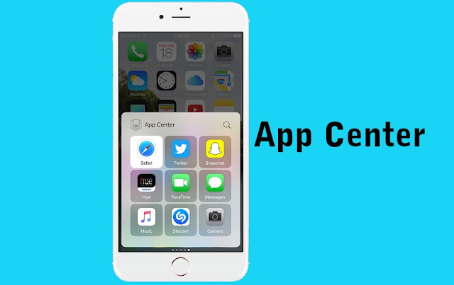 A new jailbroken cydia tweak called App Center by Evan Swick allows you to add your favorite apps as pages in Control Center in iOS 10.  There are usually two pages in iOS 10 Control Center as default