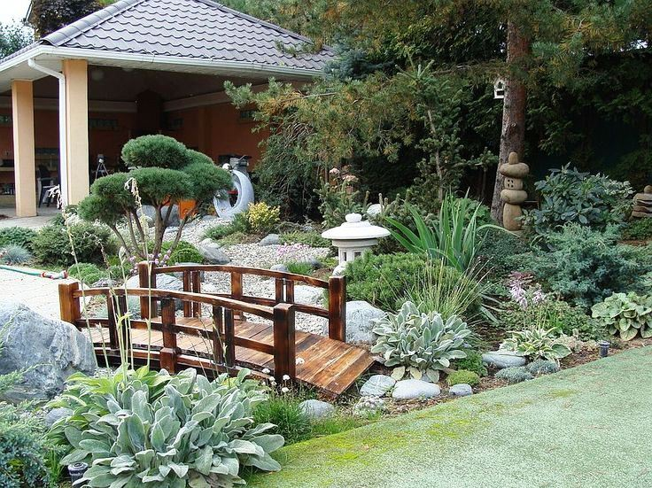 Model Desain Taman Bergaya Jepang