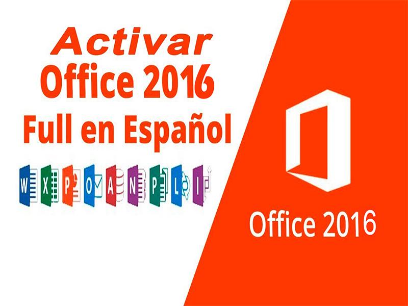 activar office 2016 professional