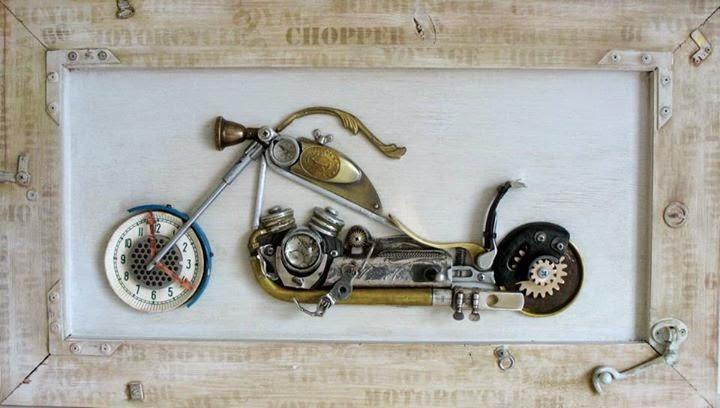 06-Chopper-Arturas-Tamasauskas-Recycled-and-Upcycled-Steampunk-Sculptures-www-designstack-co