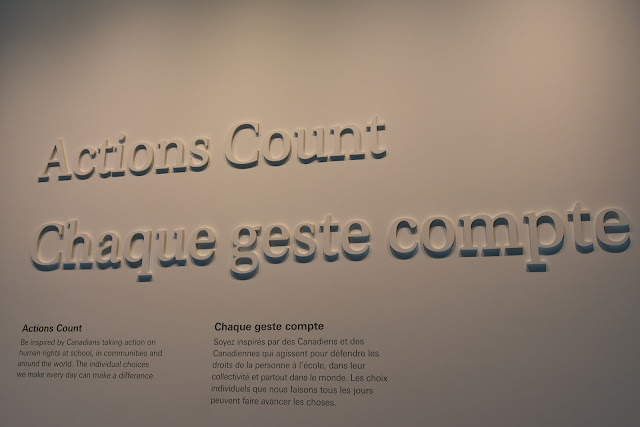 Actions Count; Canadian Museum of Human Rights