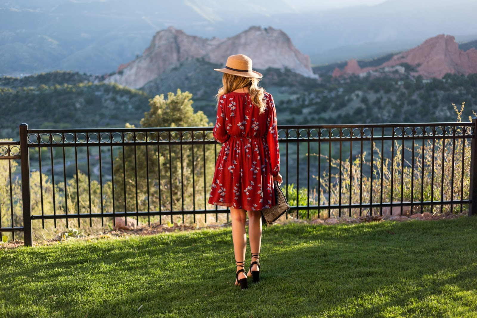 The View From Garden of the Gods Resort - Girls Getaway at Garden of the Gods Club by Colorado lifestyle blogger Eat Pray Wear Love
