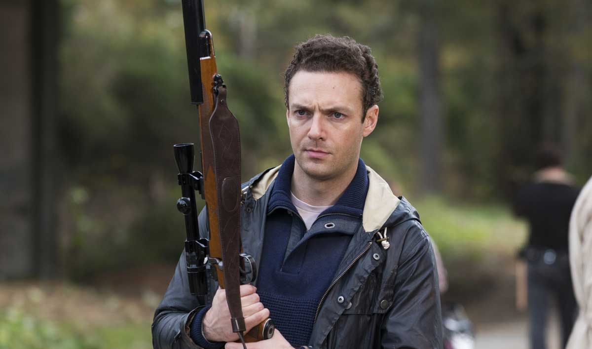 Aaron de The Walking Dead