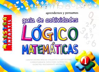 Guía de actividades lógico - matemáticas