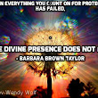 the Divine Presence does not fail