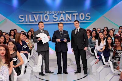 Faustino, Silvio e Thiago (Crédito: Lourival Ribeiro/SBT)