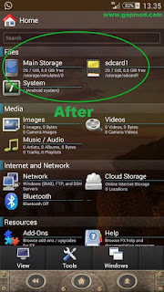 Cara Swap Memory Eksternal to Internal di perangkat Android