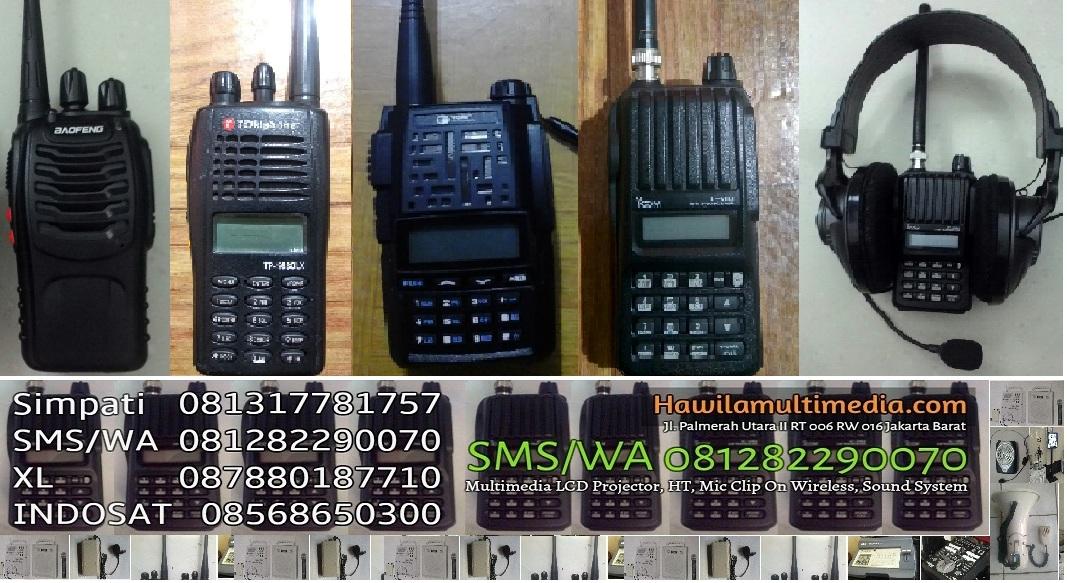 Sewa Handy Talky DKI Jakarta