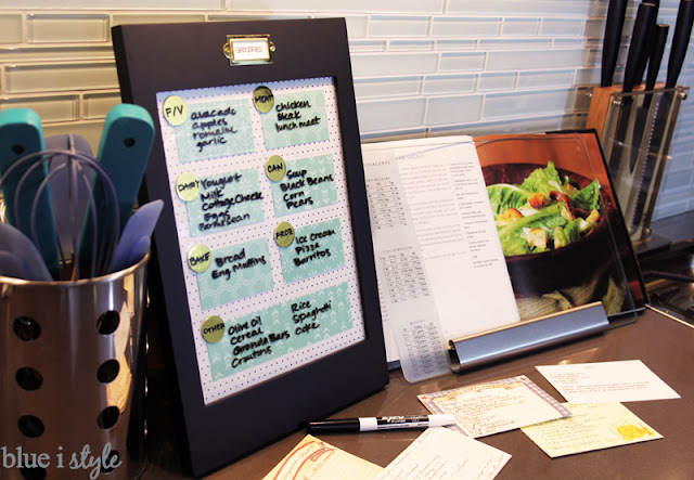 Dry Erase Grocery List Memo Board