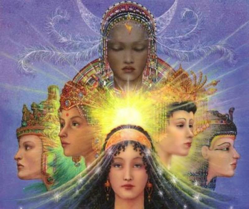 GNOSIS EXISTENCIAL: La Kali-Lilith Hiperbórea Vs La Sophia