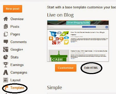 How To Declare Website Language In Blogger