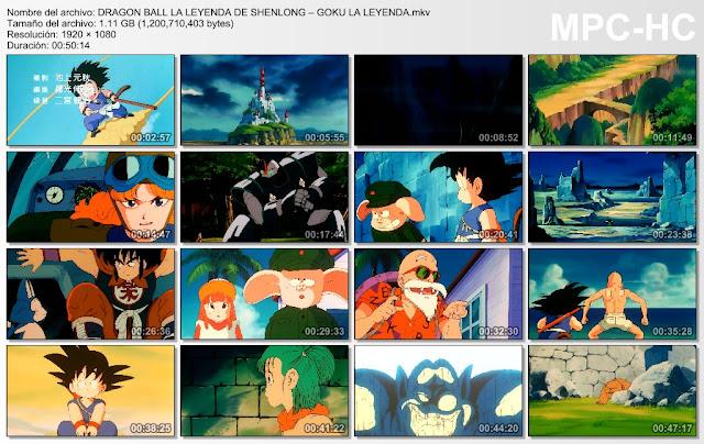 Descargar Dragon Ball La Leyenda De Sheng Long Mega y Mediafire