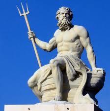 Escultura de Poseidon en  Copenhagen