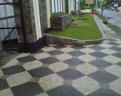 lantai batu sikat