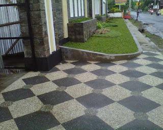 batu sikat untuk lantai carport