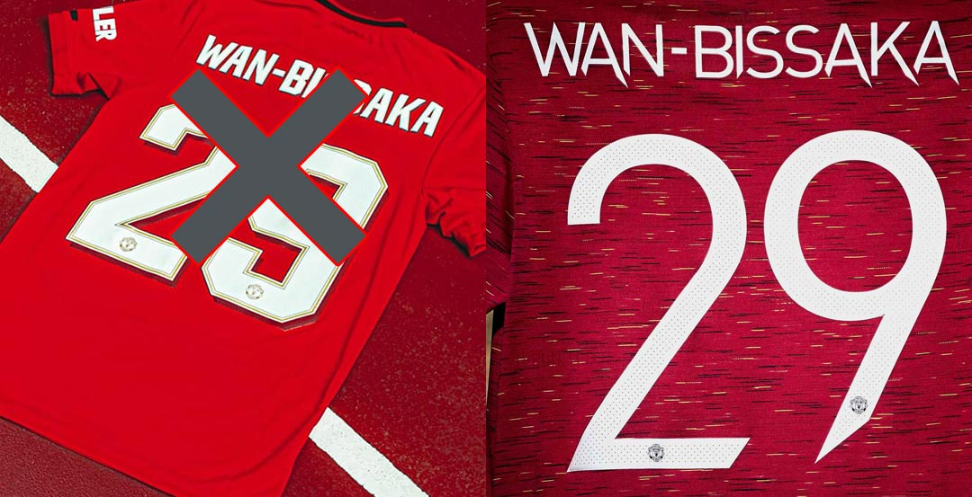 All-New Manchester United 20-21 Kit Font Revealed - Footy