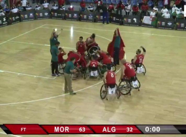 المنتخب الوطني لكرة السلة على الكراسي يتوج بطلا لإفريقيا ويتأهل لمونديال ألمانيا