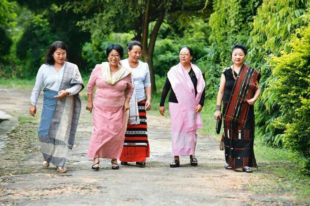 Members of Naga Mothers Association