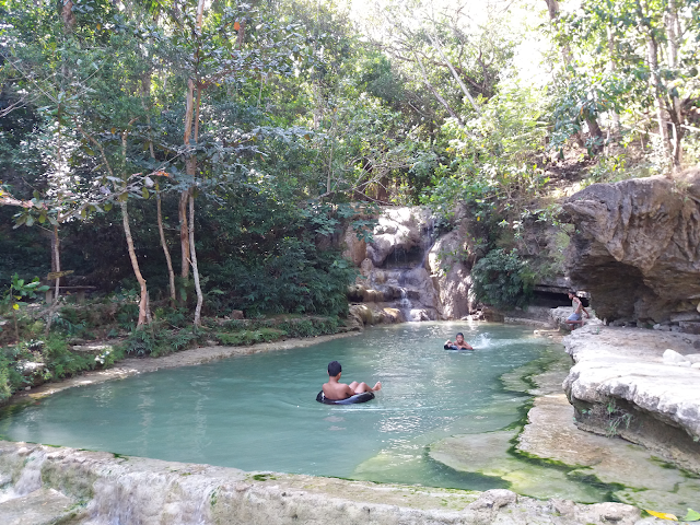 wisata grojogan lepo yang alami bantul yogyakarta