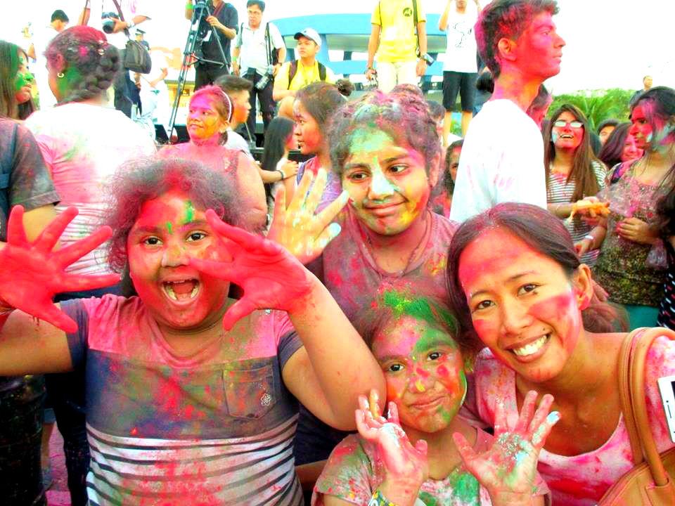 Holi festival manila philippines