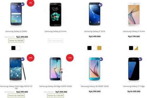 Promo Harga Gadget Akhir Tahun 2016 – 2017