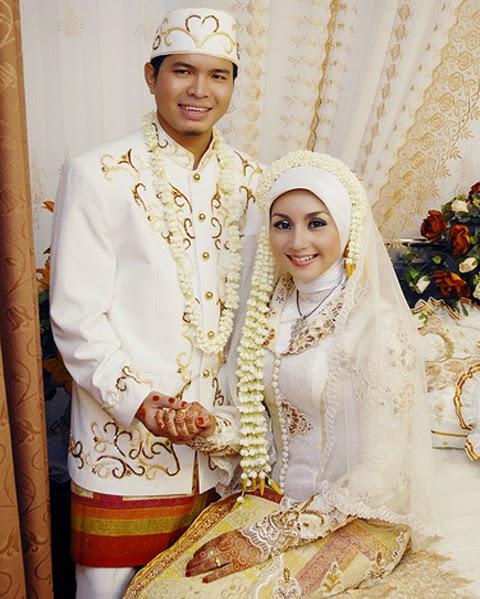 model baju pengantin muslim