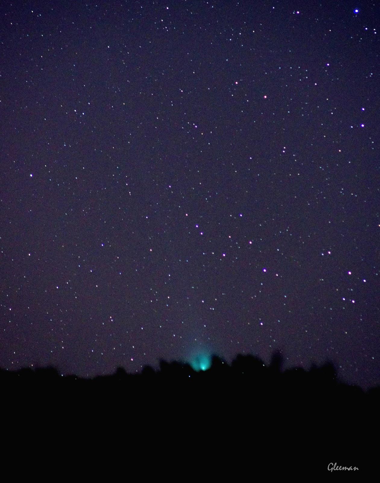 Comet Lovejoy/  Pentax k5, Tamron SP 300 (60B) , O-GPS1