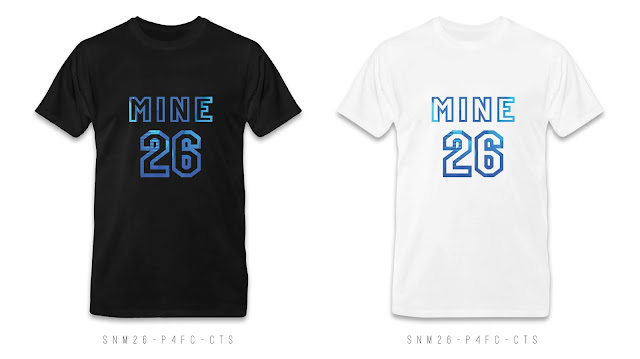 SNM26-P4FC-CTS Number & Name T Shirt Design, Custom T Shirt Printing
