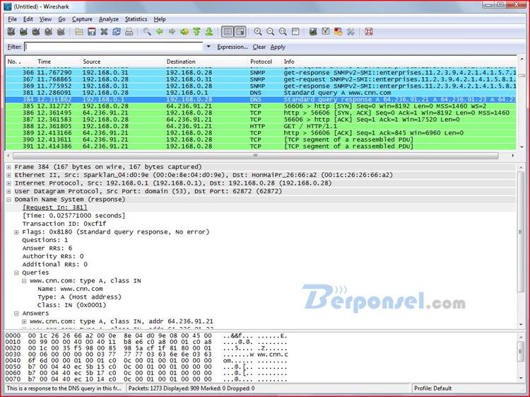 Cara mengetahui password wifi dengan wireshark