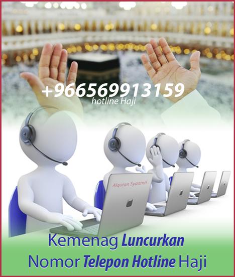 Kemenag Luncurkan Nomor Telepon Hotline Haji