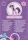 MLP Wave 3 Twilight Sparkle Blind Bag Card