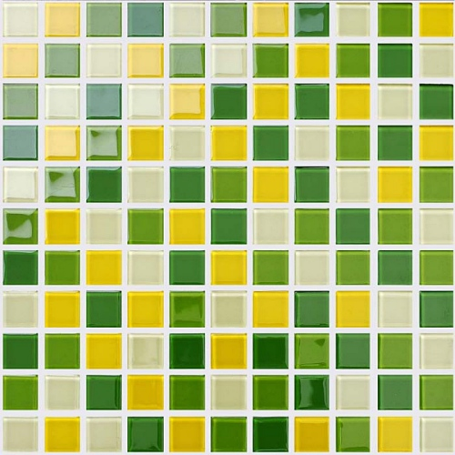 yellow and green tiles