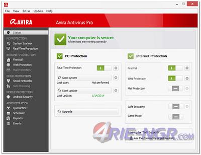 Avira Antivirus Pro 15.0.26.48 Final Full Terbaru