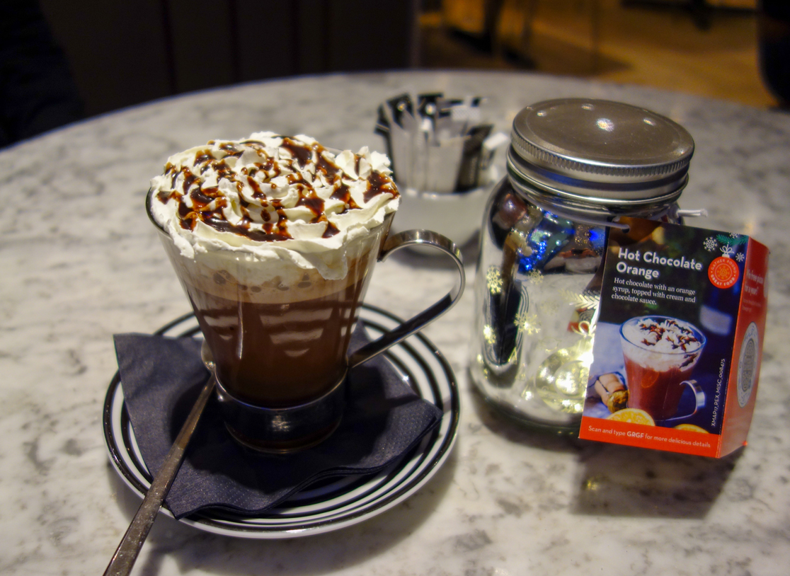 Hot Chocolate Orange Drink