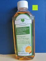 Erfahrungsbericht: GrüNatur Gesundheitsapotheke - Orangenöl Power-Reiniger