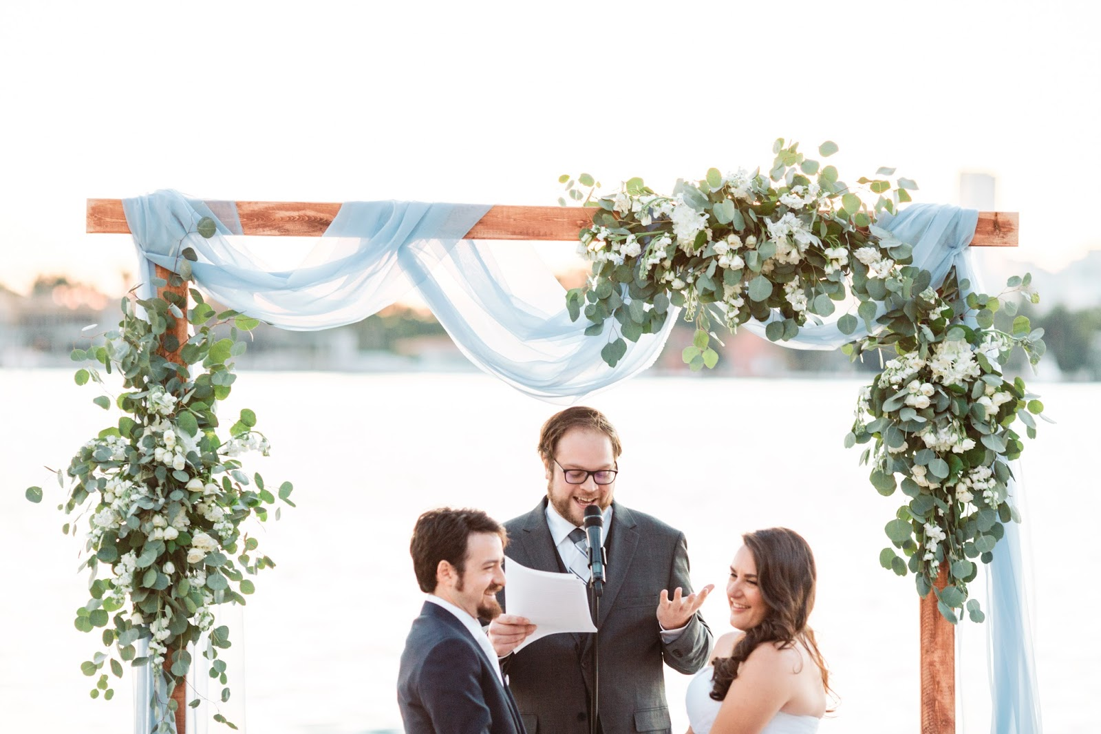 Liz and Lex Events: Tiffany and Jonathan   Married in Miami!