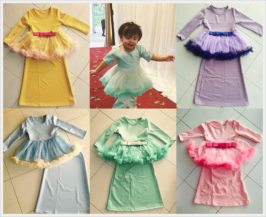 Cutescloset Baby Store And More Baju Kurung Tutu