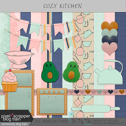 Cozy Kitchen Scrapbooking Kit