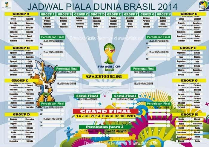 Cara download jadwal piala dunia 2014 cara.
