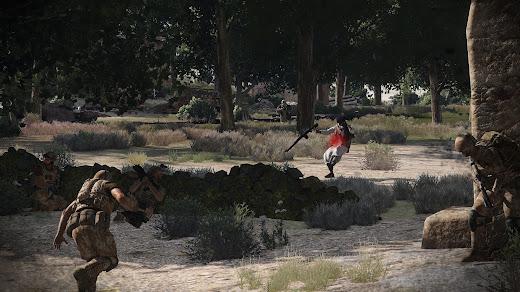 Arma 3 で Arma 2 のイギリス軍 DLC にあったミッションを作り直したシナリオ Raiders