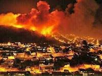 Wali Kota Haifa: Cuma Tuhan yang Mampu Padamkan Kebakaran Israel