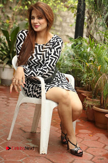 Actress Saloni Latest Pos in Short Dress  0300.JPG